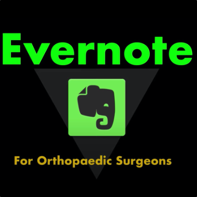 Evernote for the Spine Surgeon