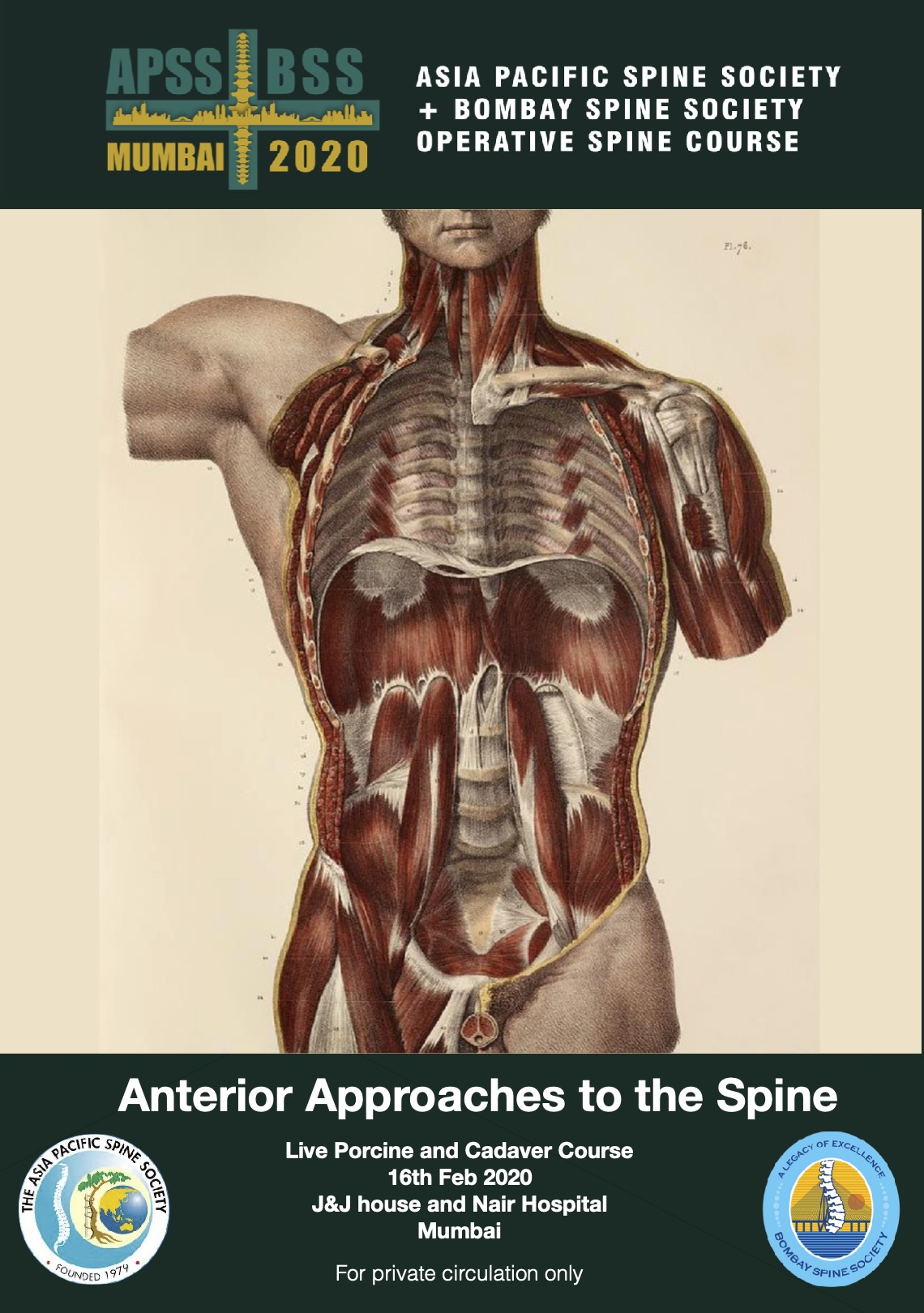 Anterior approaches to the spine – Booklet